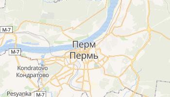 Пермь - детальна мапа