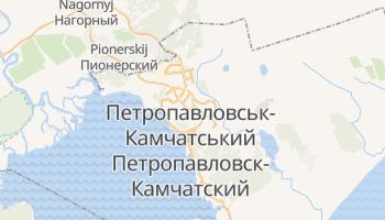 Петропавлівськ-Камчатський - детальна мапа