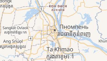 Пномпень - детальна мапа