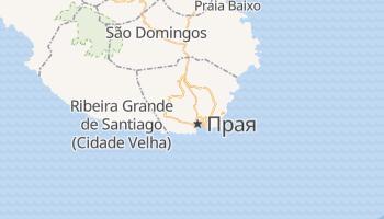 Прая - детальна мапа