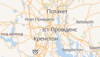 Провіденс - детальна мапа