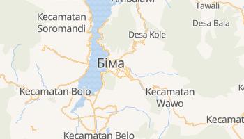 Раба - детальна мапа