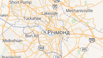Річмонд - детальна мапа