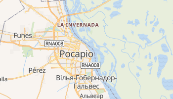 Росаріо - детальна мапа