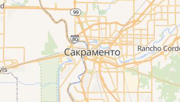 Сакраменто - детальна мапа