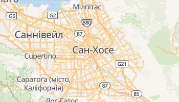 Сан-Хосе (Каліфорнія) - детальна мапа