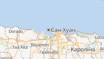 Сан Хуан - детальна мапа