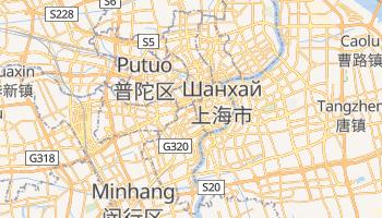 Шанхай - детальна мапа
