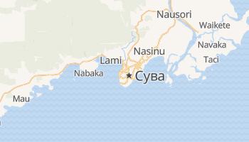 Сува - детальна мапа