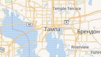 Тампа - детальна мапа