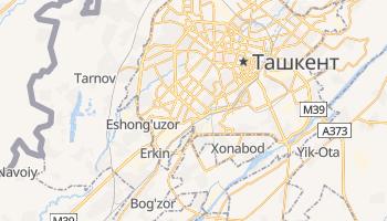 Ташкент - детальна мапа