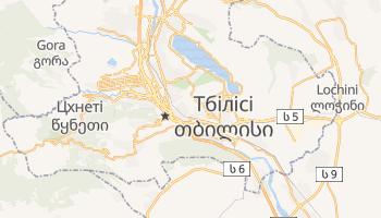 Тбілісі - детальна мапа