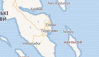 Торсхавн - детальна мапа