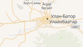 Улан-Батор - детальна мапа
