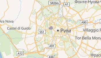 Ватикан - детальна мапа