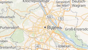 Відень - детальна мапа