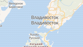 Владивосток - детальна мапа