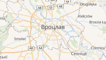 Вроцлав - детальна мапа