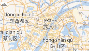 Ухань - детальна мапа