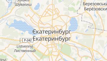 Єкатеринбург - детальна мапа