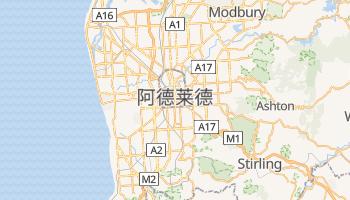 阿德莱德 - 在线地图