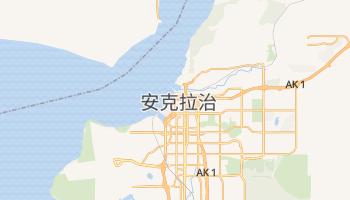 安克拉治 - 在线地图