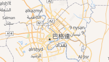 巴格达 - 在线地图