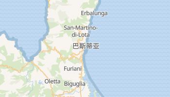 巴斯蒂亚 - 在线地图
