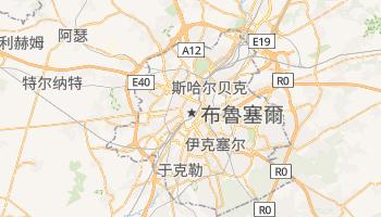布鲁塞尔 - 在线地图