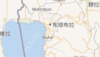 布琼布拉 - 在线地图