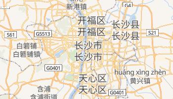 长沙市 - 在线地图