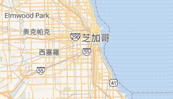 芝加哥 - 在线地图