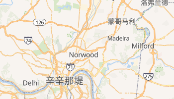 辛辛那堤 - 在线地图