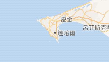 达喀尔 - 在线地图
