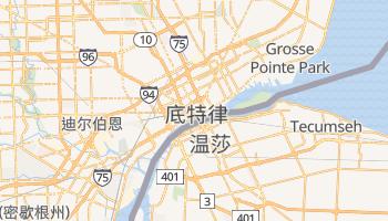 底特律 - 在线地图
