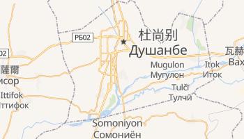 杜尚别 - 在线地图