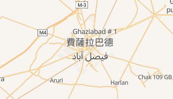 费萨拉巴德 - 在线地图