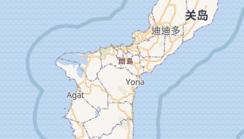 關島 - 在线地图