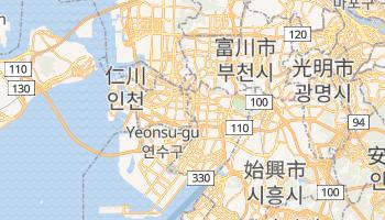 仁川 - 在线地图