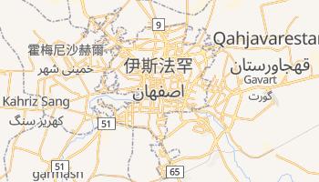 伊斯法罕 - 在线地图