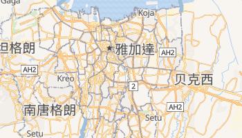 雅加达 - 在线地图