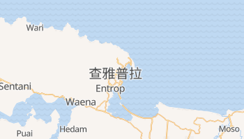 查亚普拉 - 在线地图