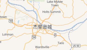 杰斐逊城 - 在线地图