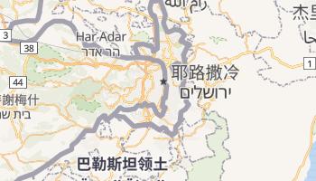 耶路撒冷 - 在线地图