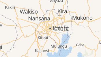 坎帕拉 - 在线地图