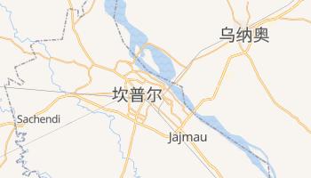 坎普尔 - 在线地图