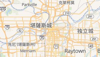 堪萨斯城 - 在线地图