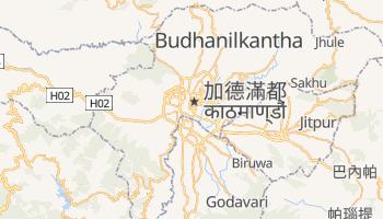 加德滿都 - 在线地图