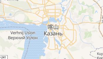 喀山 - 在线地图