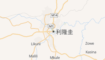 利隆圭 - 在线地图